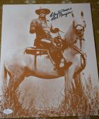 Clayton Moore Jsa Coa Signed Lone Ranger 11x14 Photo Authenticated Autograph