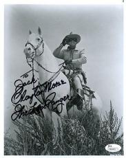Clayton Moore Lone Ranger Jsa Authenticated Signed 8x10 Photo Autograph