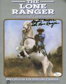 CLAYTON MOORE LONE RANGER JSA COA Hand Signed 8X10 Photo Autograph Authenticated