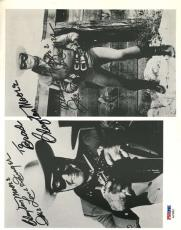 Clayton Moore Lone Ranger Psa/dna Signed 8x10 Photo Authenticated Autograph
