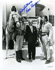CLAYTON MOORE PSA DNA COA Hand Signed 8x10 Photo Autograph Authentic ID: 45927