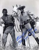 CLAYTON MOORE PSA DNA COA Hand Signed 8x10 Photo Autograph Authentic ID: 45930