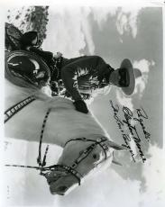 CLAYTON MOORE PSA DNA COA Hand Signed 8x10 Photo Autograph Authentic ID: 45931