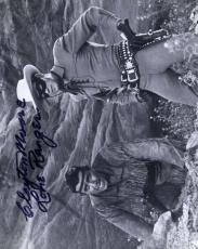 CLAYTON MOORE PSA DNA COA Hand Signed 8x10 Photo Autograph Authentic ID: 45932
