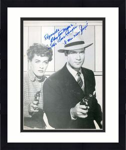 Clayton Moore Psa Dna Coa Hand Signed G Man 8x10 Photo Autograph Authenticated