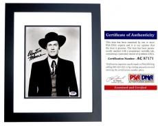 Clayton Moore Signed - Autographed Jesse James 8x10 inch Photo - The Lone Ranger - Deceased 1999 - BLACK CUSTOM FRAME - PSA/DNA Certificate of Authenticity (COA)
