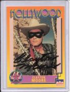 Clayton Moore Signed Starline Hollywood card