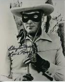 Clayton Moore The Lone Ranger Rare Signed Autograph Photo