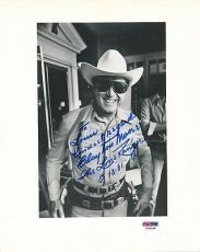 Clayton Moore The Lone Ranger Signed 8x10 Photo Autograph Auto PSA/DNA X78268