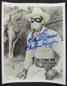 Clayton Moore The Lone Ranger Signed Auto Autograph 8x10 Photo JSA T80938