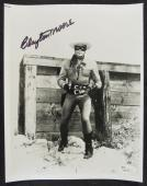 Clayton Moore The Lone Ranger Signed Auto Autograph 8x10 Photo JSA T80939