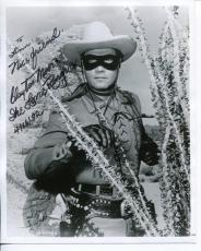 Clayton Moore The Lone Ranger Western Television Actor Signed Photo Autograph