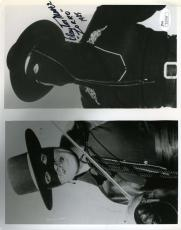 CLAYTON MOORE ZORRO JSA HAND SIGNED 8x10 PHOTO AUTHENTIC AUTOGRAPH