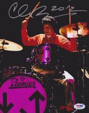 Clem Burke SIGNED 8x10 Photo Drummer Blondie PSA/DNA AUTOGRAPHED