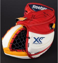 Scott Clemmensen Florida Panthers Autographed Game-Used Reebok Catching Glove - Mounted Memories