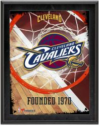 "Cleveland Cavaliers Team Logo Sublimated 10.5"" x 13"" Plaque"