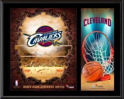 "Cleveland Cavaliers Sublimated 12"" x 15"" Team Logo Plaque"