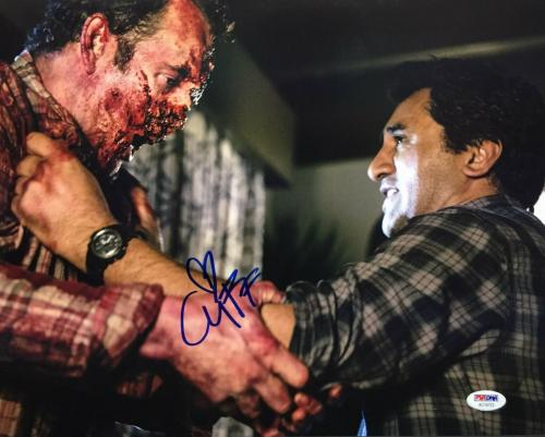 Cliff Curtis Signed Fear Of The Walking Dead 11x14 Photo PSA/DNA AC19723