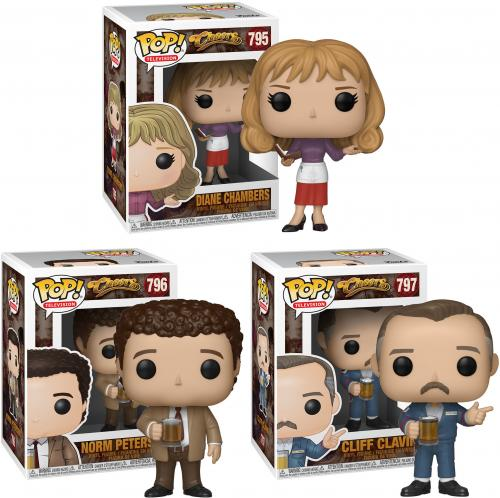 Cliff, Diane, Norm, Sam, and Woody Cheers Funko Pop! Bundle