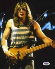 Cliff Williams AC/DC acdc Autographed Signed 8x10 Photo PSA/DNA COA AFTAL