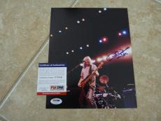 Cliff Williams AC/DC Signed Autographed 8x10 Promo Color Photo PSA Certified
