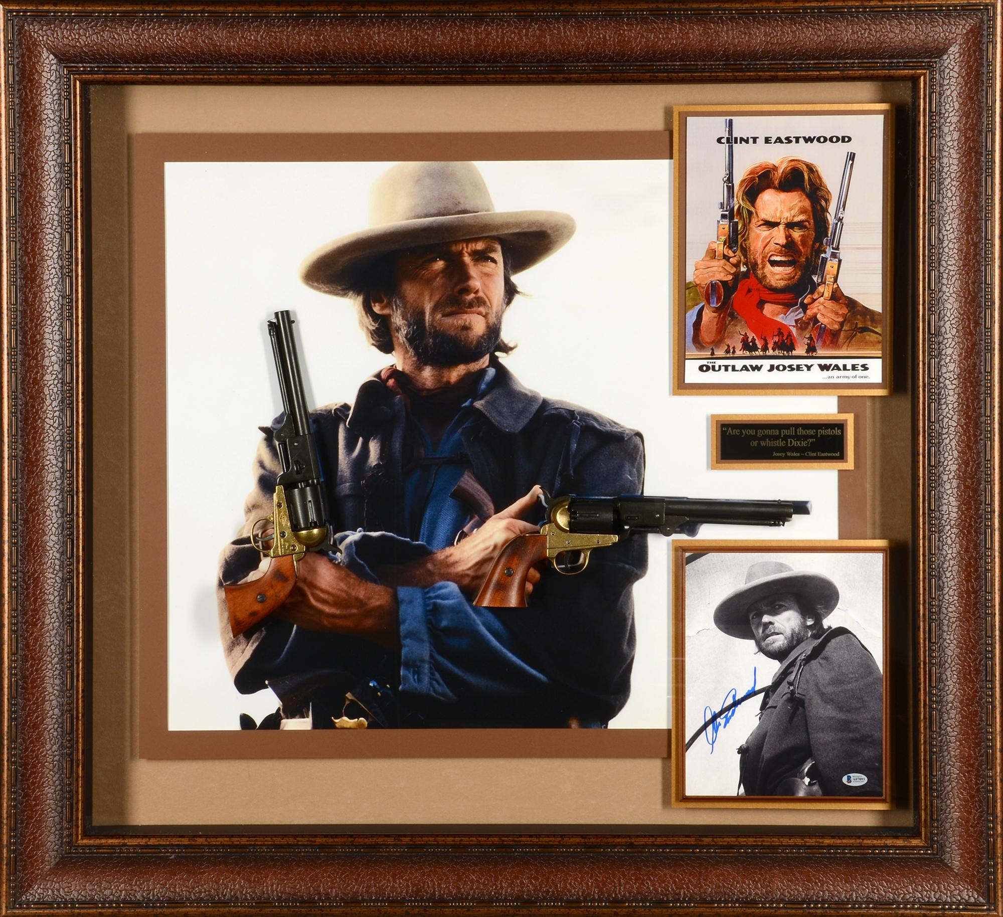 Autographed Clint Eastwood Memorabilia: Signed Photos & Other Items