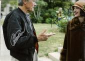 """CLINT EASTWOOD & ANGELINA JOLIE """"CHANGELING"""" Signed 14x11 Color Photo"""
