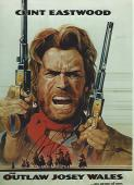 "CLINT EASTWOOD as JOSEY WALES in 1976 Movie ""THE OUTLAW JOSEY WALES"" Signed 8x11 Color Photo"