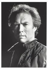 "CLINT EASTWOOD as MITCHELL GANT in the Movie ""FIREFOX"" Signed 5x7 B/W Photo"