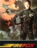 """CLINT EASTWOOD as MITCHELL GANT in the Movie """"FIREFOX"""" Signed 8x10 Color Photo"""