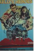 """CLINT EASTWOOD as PAT KELLY in """"KELLY'S HEROES"""" Signed 4x6 Color Photo"""
