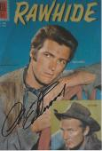 "CLINT EASTWOOD as ROWDY YATES in TV SERIES 1959-65 ""RAWHIDE"" Signed"