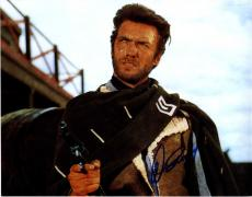 Clint Eastwood Autographed 11x14 Good Bad Ugly Photo AFTAL UACC RD COA