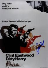 Clint Eastwood Autographed 12x18 Dirty Harry Promo Poster Photo UACC RD COA