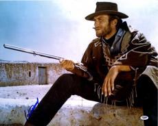 Clint Eastwood Autographed 16x20 Poster Photo UACC RD COA AFTAL PSA
