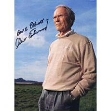 Clint Eastwood Autographed Celebrity 8x10 Photo