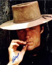 Clint Eastwood Autographed Cowboy 16X20 Poster Photo UACC RD AFTAL COA