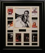 Clint Eastwood Autographed Framed Movie Collection