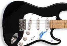 Clint Eastwood Autographed Guitar PSA UACC RD COA