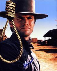Clint Eastwood Autographed Noose 16X20 Poster Photo UACC RD AFTAL COA