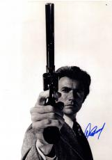 Clint Eastwood Autographed Revolver 16X20 Poster Photo UACC RD AFTAL COA