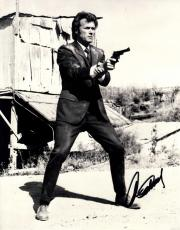 Clint Eastwood Autographed Signed 11x14 Dirty Harry Photo AFTAL UACC RD COA