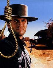 Clint Eastwood Autographed Signed 11x14 Hang &#39Em High Noose Poster Photo AFTA