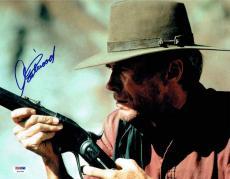 Clint Eastwood Autographed Signed 11x14 Photo Certified Authentic PSA/DNA LOA