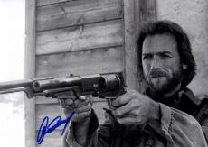 Clint Eastwood Autographed Signed 12x18 Akimbo Poster Photo UACC RD COA AFTAL