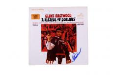 Clint Eastwood Autographed Signed Fist full Of Dollars LP AFTAL
