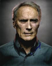 Clint Eastwood Autographed Signed Metallic 11x14 Poster Photo UACC RD AFTAL COA