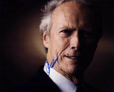 Clint Eastwood Autographed Smiling 16X20 Poster Photo UACC RD AFTAL COA