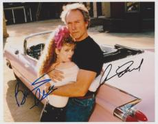 Clint Eastwood & Bernadette Peters Signed - Autographed 8x10 PINK CADILLAC Photo - Guaranteed to pass PSA or JSA