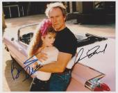 Clint Eastwood & Bernadette Peters Signed - Autographed PINK CADILLAC 8x10 inch Photo - Guaranteed to pass PSA or JSA